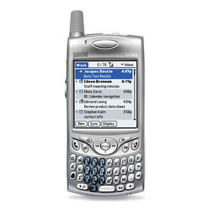 NEW PALM TREO 600 SILVER UNLOCKED GSM TOUCHSCREEN PALMONE SMARTPHONE