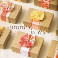 2 Piece Kraft Favor Box / Boxes (Set of 10)