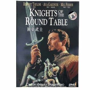 Knights Of The Round Table, Robert Taylor, 1953, DVD New