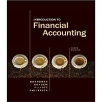 Introduction to Financial Accounting (9th Edition)
