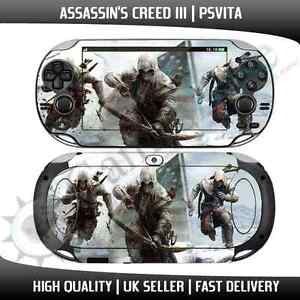PS Vita Assassins Creed Vinyl Skin Decal  - Playstation Vita Stickers