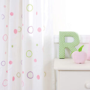 BABYFACE BUBBLES CURTAINS FOR CHILDRENS / GIRLS ROOM LOVELY