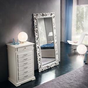 Cassettiera settimino laccato bianco camera da letto cameretta vari colori ebay - Cassettiera camera letto ...