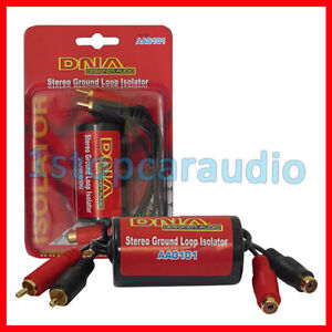 Stereo-Ground-Loop-Isolator-AAG101-DNA-Audio-BRAND-NEW-IN-STOCK