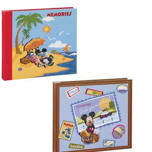 2-Disney-Mickey-Mouse-8-x-8-Scrapbooks