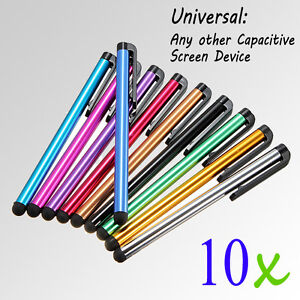 10x-Universal-Capacitive-Stylus-Touch-Screen-Pen-For-Tablet-PC-i-Pad-Smart-Phone