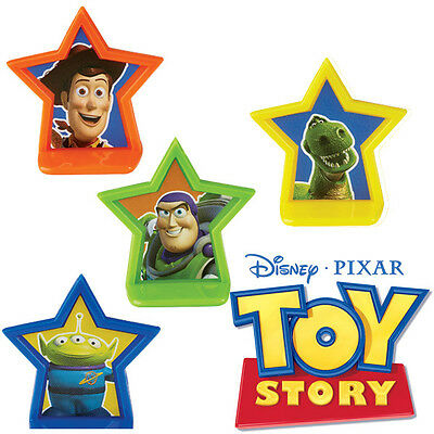 Toy Story Cupcake Decoration Party Tree Pics Cake Liners X8 Woody Buzz Wilton Nw