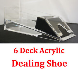 1-6-Decks-Blackjack-Dealing-Shoe-Real-Acrylic-Material
