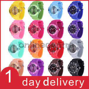 Hot-Fashion-Quartz-16-Colors-Ice-Style-Unisex-Cute-Candy-Silica-Wrist-Watches