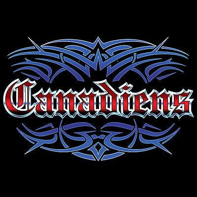 Canadiens Tattoo Style T-shirt Montreal M L Xl 2x 3x Men's Women's Blue Wave