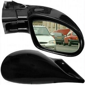 M3 Black Wing Door Mirrors Left & Right Manual Seat Ibiza 1993 To 2002