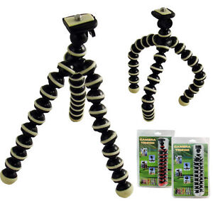 Mini Tripod Small Gorilla Type Digital Camera Stand Holder Flexible