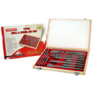 "BRAND NEW 17pc DRILL/CHISEL BITS SDS/Step Drill Bits/SDS PLUS or MAX bits/1/2"" Keyless Drill Chuck/Chuck Conversion"
