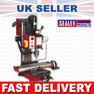 SEALEY-SM2502-Mini-Drilling-Milling-Machine-Mill-Drill-350W-892749