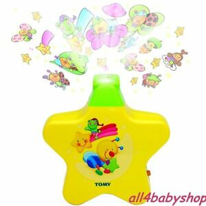 ★TOMY Starlight Star Light Dreamshow Baby Night Light Projector Cot Mobile Toy