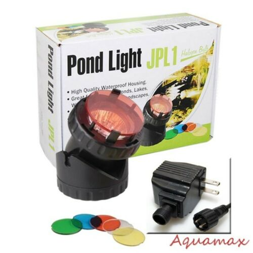 10W Single Underwater Submersible Halogen Pond Fountain ...