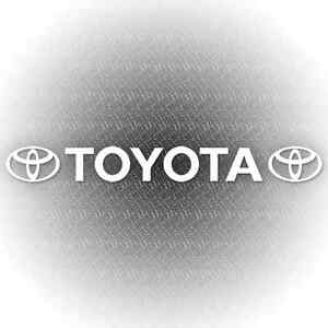 Toyota Logos Windscreen Car Sticker 100cm