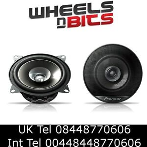 Pioneer TS-g1021i 10cm 4 inch 180Watt car Speakers set of two Free UK Shipping