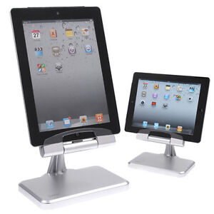 desktop charging stand holder docking station for apple ipad 2 ipad 3 silver ebay. Black Bedroom Furniture Sets. Home Design Ideas