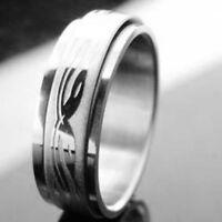Men's Designer Snake Stainless Steel Ring Size 8--NEW!!