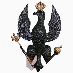 New-Official-Kings-Royal-Hussars-All-Ranks-Cap-Badge-Beret-Badge