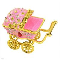 GLAMOROUS BABY CARRIAGE doubles as a JEWELERY CONTAINER