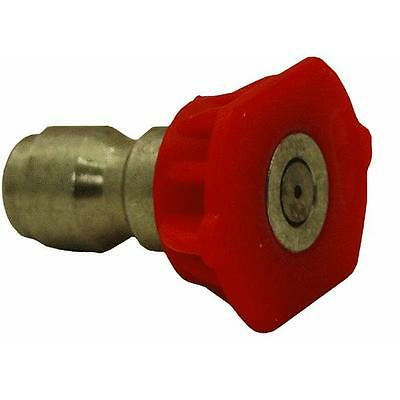 Red 0 Deg Pressure Washer Spray Tip X 24  Apache Hose Belting  99050010