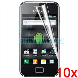 10x CLEAR SCREEN PROTECTOR FOR SAMSUNG S5830 GALAXY ACE