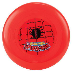 Spider-Man-FRISBEE-features-logo-spider-web-by-Marvel-9-diameter-NEW