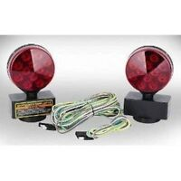 New 100,000 Hours 12V LED Magnetic Towing Light Kit