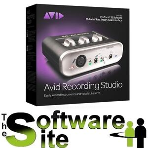 Avid Audio RECORDING STUDIO US/GB Incl. Pro Tools SE Fast Track USB interface