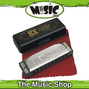 Essex 10 Hole Blues Harmonica Key of C Brand New SX