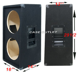Unloaded 2X12 Guitar Cabinet | MF Cabinets