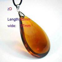 Large topaz gemstone pendant--NEW!!