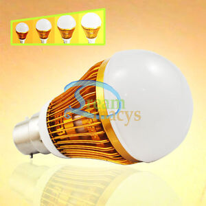 14W Warm White B22 High Power SMD LED Light Bulb Dimmable Energy saving Lamp
