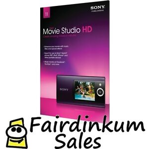 Sony Vegas Movie Studio HD Platinum Production Suite 11 video editing Tax Inv.