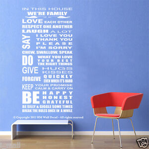 NEW-HOUSE-RULE-WALL-QUOTE-DECAL-for-your-home-or-business-H-125cm-W-55cm