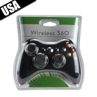 2.4GHz BLACK GAME Wireless Remote Controller for Microsoft Xbox 360 Slim XBOX360 on Rummage
