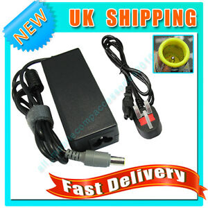 AC Power Adapter Supply Charger For IBM Lenovo X60S X61S 65W 20V 3.25A + Lead UK