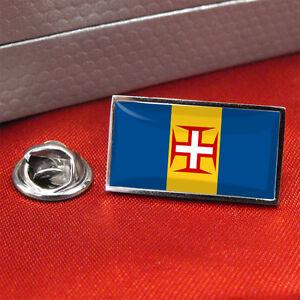 Madeira-Distintivo-Di-Bandiera-Lapel-Pin-Fermacravatta