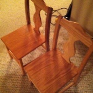 Children's table and chair set - wooden. Custom made for you! Kitchener / Waterloo Kitchener Area image 3