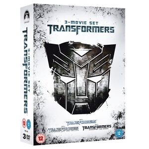 Transformers-1-3-Discs-Film-Movie-Box-Set-UK-Region-2-DVD-With-Shia-LaBeouf