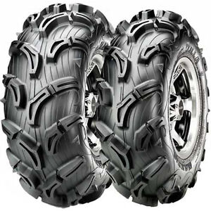 NEW-SET-4-MAXXIS-BABY-ZILLA-ATV-UTV-TIRES-MUD-25X8-12-FRONT-AND-25X10-12-REAR