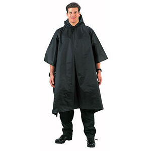Army-Marines-Tactical-Black-Enhanced-Military-Rain-Gear-Poncho-Nylon-Rip-stop