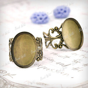 5pcs-Adjustable-Ring-Mountings-Setting-Antique-Brass-Flat-Oval-13x18mm-MB615