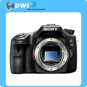 SALE BRAND NEW SONY α ALPHA SLT-A65 A65 DIGITAL SLR CAMERA BODY ONLY 24.3 MP