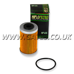 KTM EXC-F250 EXC F 250 2007 - 2011 HI-FLO OIL FILTER