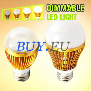6W-14W-Warm-White-E27-E26-Dimmable-LED-Light-Bulb-Lamp-Dimmer-Switch-Wall-Plate