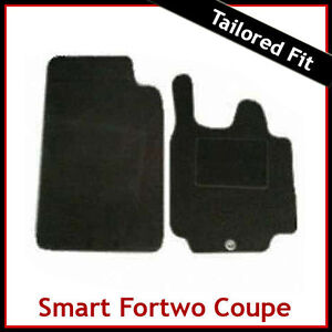 SMART FORTWO Coupe (57) 2007 2008 2009 2010 2011 2012 Tailored Carpet Car Mats