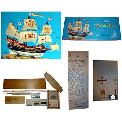 Vintage Golden Hind Sir Francis Drakes Flagship By Scientific Models  Inc